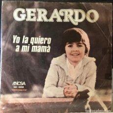 Discos de vinilo: SENCILLO ARGENTINO DE GERARDO AÑO 1980. Lote 30890262