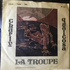 Discos de vinilo: SENCILLO ITALIANO DE LA TROUPE AÑO 1983. Lote 27201542