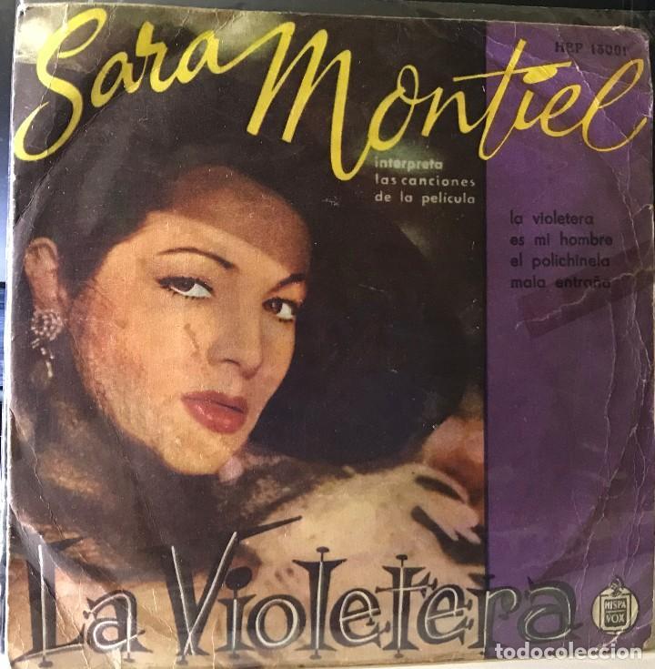 EP ARGENTINO DE SARA MONTIEL AÑO 1958 (Música - Discos de Vinilo - EPs - Flamenco, Canción española y Cuplé)