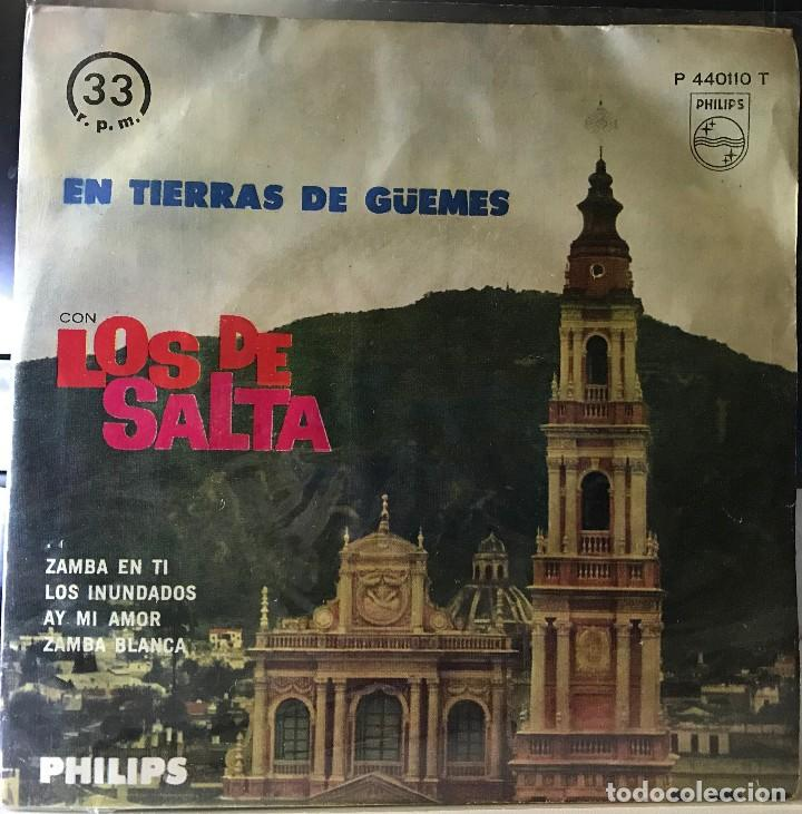 EP ARGENTINO DE LOS DE SALTA AÑO 1962 (Música - Discos de Vinilo - EPs - Grupos y Solistas de latinoamérica)