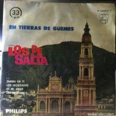 Discos de vinilo: EP ARGENTINO DE LOS DE SALTA AÑO 1962. Lote 39978549
