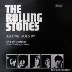 Discos de vinilo: THE ROLLING STONES AS TIME GOES BY LP . KEITH RICHARDS BRIAN JONES MICK JAGGER. Lote 185770777