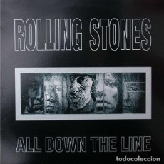 Discos de vinilo: THE ROLLING STONES ALL DOWN THE LINE LP . KEITH RICHARDS BRIAN JONES MICK JAGGE. Lote 185771440