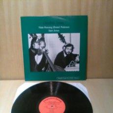 Disques de vinyle: NIELS-HENNING, ORSTED PEDERSEN, SAN JONES, DOUBLE BASS.. Lote 185777075