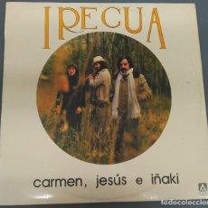 Discos de vinilo: IREGUA - CARMEN, JESUS E IÑAKI - AMBAR 1979 - LP RARO. Lote 185783062