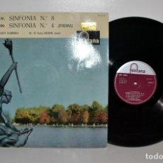 Discos de vinilo: FONTANA 699038CL BEETHOVEN 8, MENDELSSOHN 4, BEECHAM, ESPAÑA 1959 EX/VG+ . Lote 185785483