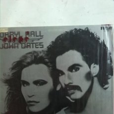 Discos de vinilo: HALL & OATES-DARRYL HALL & JOHN OATES. Lote 185785808