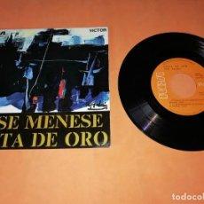 Discos de vinilo: JOSE MENESE. SAETA DE ORO. RCA . VICTOR 1970.. Lote 185786100