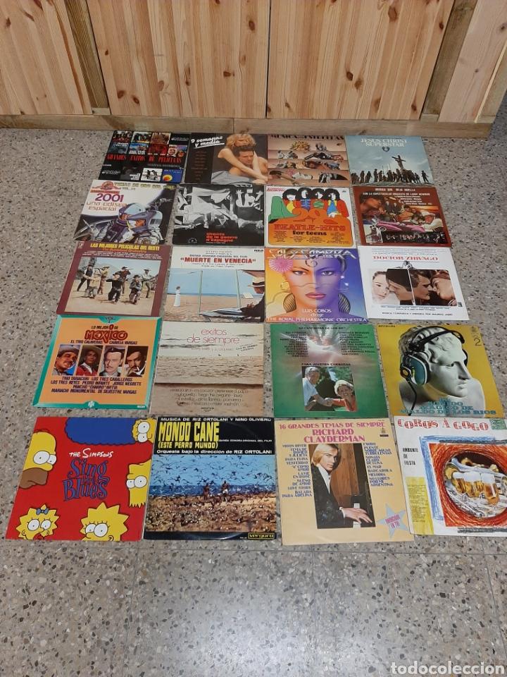 20 LPS MÚSICA DE PELÍCULAS Y BANDAS SONORAS (Música - Discos - LP Vinilo - Bandas Sonoras y Música de Actores )