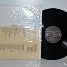 Discos de vinilo: MONTEVERDI - LAMENTO D'ARIANA - HARMONIA MUNDI HMU320 FRANCE NM. Lote 185789172