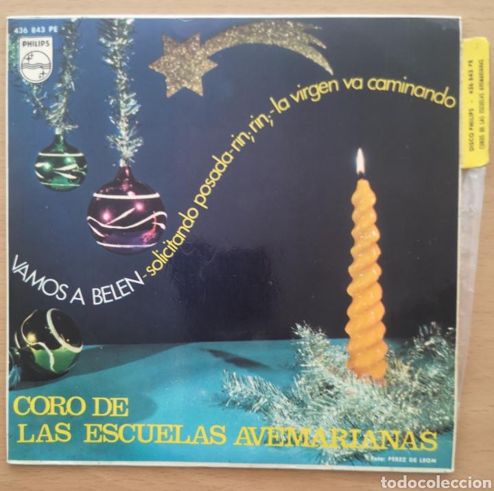 CORO DE LAS ESCUELAS AVEMARIANAS - VAMOS A BELÉN (Música - Discos - Singles Vinilo - Otros estilos)