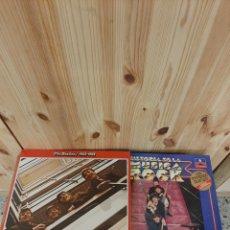 Discos de vinilo: THE BEATLES. 1962-1966. HISTORIA MÚSICA ROCK. Lote 185877316