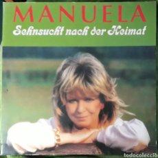 Discos de vinilo: VINILO MANUELA SEHNSUCHT NACH DER HEIMAT. Lote 185877492