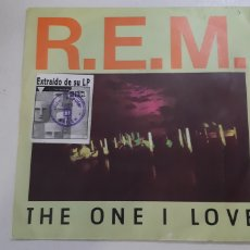 Discos de vinilo: R.E.M. THE ONE I LOVE. SINGLE RADIO COPE. BAILEN.. Lote 185877501