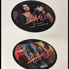 Discos de vinilo: MX AITANA / ANA GUERRA LO MALO PICTURE DISC VINYL LTD RECORD STORE DAY 2019. Lote 185878151