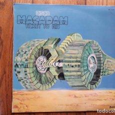 Discos de vinilo: MACADAM - TICKET TO RIO. Lote 185879727