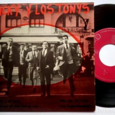 Discos de vinilo: MICKY Y LOS TONYS - THE HOUSE OF THE RISING SONG - EP 1964 - ZAFIRO. Lote 185901201