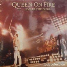 Discos de vinilo: QUEEN - FREDDIE MERCURY - QUEEN ON FIRE LIVE AT THE BOWL - TRIPLE LP DE VINILO - NUEVO PRECINTADO #. Lote 185903071
