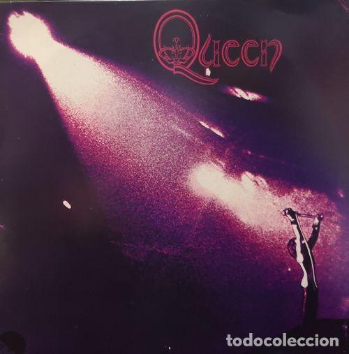 QUEEN - FREDDIE MERCURY - EL PRIMER LP - RE EDICION HECHA EN CHECOSLOVAQUIA EN VINILO ROJO EN 1992 # (Música - Discos - LP Vinilo - Pop - Rock - Extranjero de los 70)