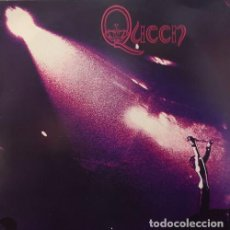 Discos de vinilo: QUEEN - FREDDIE MERCURY - EL PRIMER LP - RE EDICION HECHA EN CHECOSLOVAQUIA EN VINILO ROJO EN 1992 #. Lote 185903291