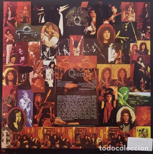 Discos de vinilo: QUEEN - FREDDIE MERCURY - EL PRIMER LP - RE EDICION HECHA EN CHECOSLOVAQUIA EN VINILO ROJO EN 1992 # - Foto 2 - 185903291