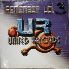 Disques de vinyle: VINILO REMEMBER UNITED RECORDS VOL.3. Lote 185909156