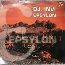 Discos de vinilo: VINILO D.J INVI EPSYLON. Lote 185910040