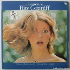 Discos de vinilo: EL MUNDO DE RAY CONNIFF. LP DOBLE CBS 1977 NUNCA ESCUCHADO. Lote 185910250