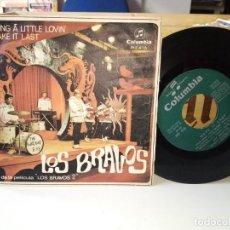 Discos de vinilo: LOS BRAVOS BRING A LITTLE LOVIN´. Lote 185910658