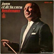 Discos de vinilo: JUAN EL DE LA VARA, MELCHOR DE MARCHENA - FANDANGOS - EP SPAIN 1971 - HISPAVOX HH 16-780. Lote 185911271