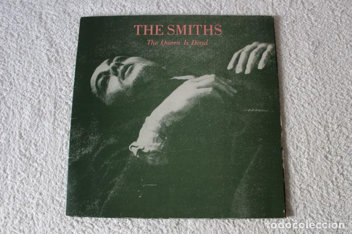 THE SMITHS: THE QUEEN IS DEAD - LP. ROUGH TRADE 1986 (DOBLE PORTADA) EDICION ESPAÑOLA (Música - Discos - LP Vinilo - Pop - Rock - New Wave Extranjero de los 80)