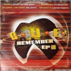 Discos de vinil: VINILO QUE REMEMBER EP3. Lote 185918336