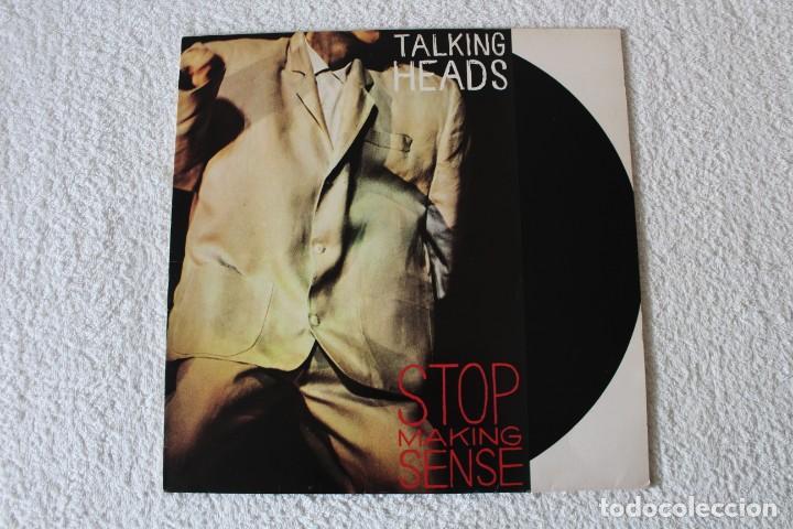 TALKING HEADS: STOP MAKING SENSE - LP. EMI 1984 (Música - Discos - LP Vinilo - Pop - Rock - New Wave Extranjero de los 80)