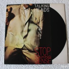 Discos de vinilo: TALKING HEADS: STOP MAKING SENSE - LP. EMI 1984. Lote 185919112