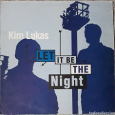 Discos de vinilo: VINILO KIM LUKAS LET IT BE THE NIGHT. Lote 185920090