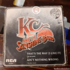 Discos de vinilo: K.C. & THE SUNSHINE. THAT'S THE WAY / AIN'T NOTHING WRONG 1975 RCA. Lote 185922688
