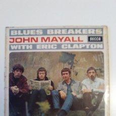 Discos de vinilo: JOHN MAYALL BLUES BREAKERS WITH ERIC CLAPTON ( 1966 DECCA UK MONO ) CON MUCHAS MARCAS. Lote 185930410