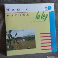 Discos de vinilo: RADIO FUTURA - LA LEY DEL DESIERTO - LP ¡NUEVO! VINILO AZUL. Lote 185935058