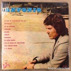 Discos de vinilo: -L.P. VINILO - ANTONIO (EUROMUSIC 1976). RAREZA, DIFÍCIL DE CONSEGUIR.. Lote 175454575