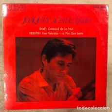 Discos de vinilo: JOAQUÍN ACHUCARRO. RAVEL: GASPARD DE LA NUIT Y DEBUSSY: TRES PRELUDIOS - LA PLUS QUE LENTE (RCA 1971. Lote 175457863