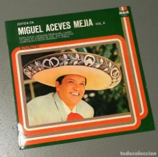 Discos de vinilo: NUMULITE LP091 ÉXITOS DE MIGUEL ACEVES MEJÍA VOL. II MARÍA ELENA . Lote 185939942