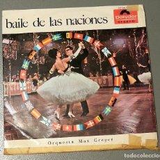 Discos de vinilo: NUMULITE * BAILE DE LAS NACIONES ORQUESTA MAX GREGER. Lote 185942626
