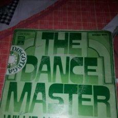 Discos de vinilo: THE DANCE MASTER. WILLIE HENDERSON. EDICION EMI DE 1974. Lote 185944437