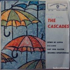Discos de vinilo: THE CASCADES PORTADA EP RITMO DE LA LLUVIA (NO CONTIENE DISCO). Lote 185953476