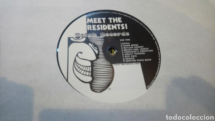 Discos de vinilo: The Residents–Meet The Residents . LP vinilo 1979. Buen estado - Foto 3 - 185954661