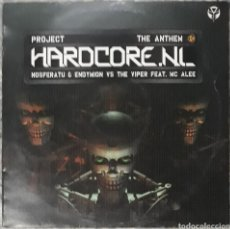 Disques de vinyle: VINILO HARDCORE.NL PROJECT THE ANTHEM. Lote 185957426