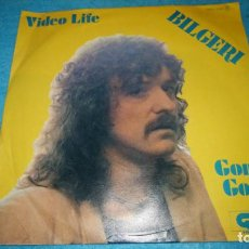 Discos de vinilo: BILGERI - VIDEO LIFE / GONE, GONE. Lote 185957893