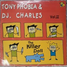 Disques de vinyle: VINILO TONY PHOBIA & D.J CHARLES VOL.2 THE MILLER DOLL. Lote 185957903