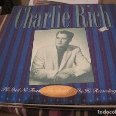 Disques de vinyle: LP CHARLIE RICH THE BEST OF HI RECORDINGS COUNTRY. Lote 185958102