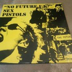 Discos de vinilo: SEX PISTOLS-NO FUTURE U.K ? - LP VINILO RECEIVER RECORDS 1989. BUEN ESTADO. Lote 185960230